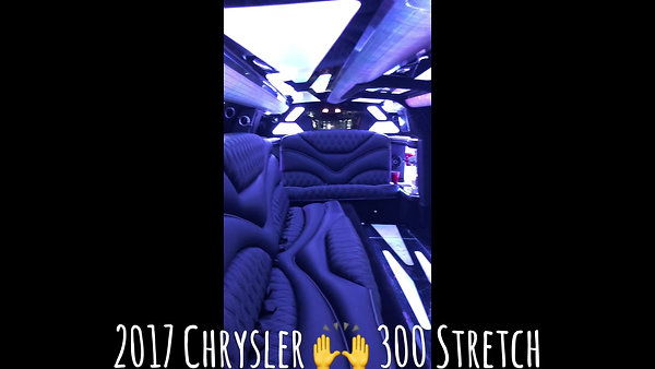 2017 Chrysler 300 Stretch Limo