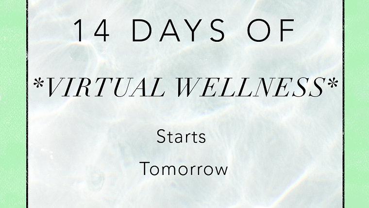 Fourteen Days Of Virtual Wellness