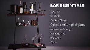 HOTEL COLLECTION: BAR CART