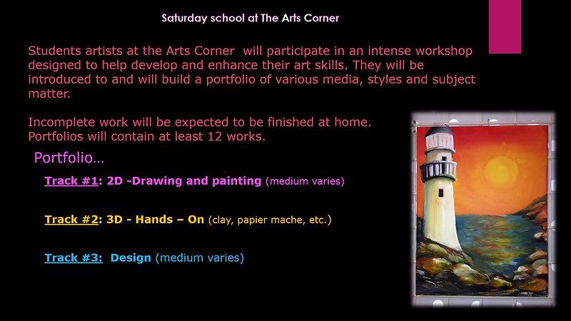 The Arts Corner