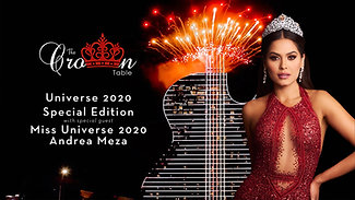 The Crown Table | Miss Universe 2020 Andrea Meza