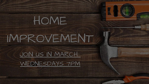 March Theme Home Improvement