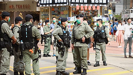 CITY FOCUS: Riot police deployed on May day but no signs of protests