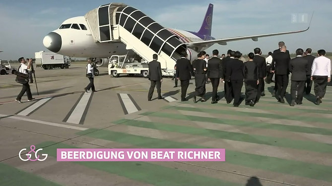 Swiss-TV report on the funeral of Beat Richner