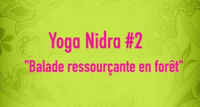 Yoga Nidra #2 Balade ressourçante en forêt