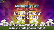 4 4 21 M1 EASTER SERVICE