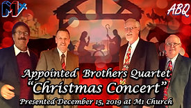 12 18 20 Appointed Brothers Quartet Christmas Concert