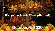 10.4.20 M1 WORSHIP SERVICE