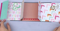 Birthday Gatefold Scrapbook