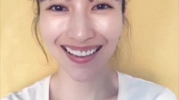 印象の比較「目が笑っていない笑顔と目が笑っている笑顔」