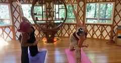 40 Minute Yurt Yoga