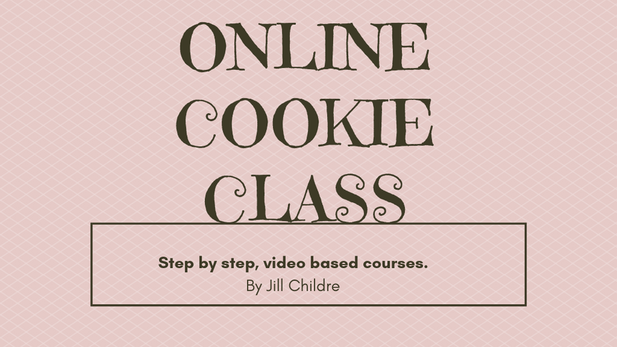 Online Decorated Cookie Classes