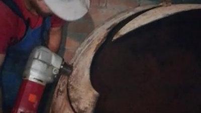 mazout verwijderen