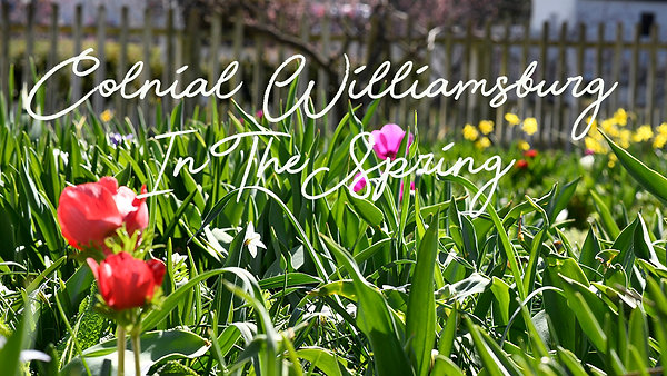 Colonial Williamsburg in the Spring