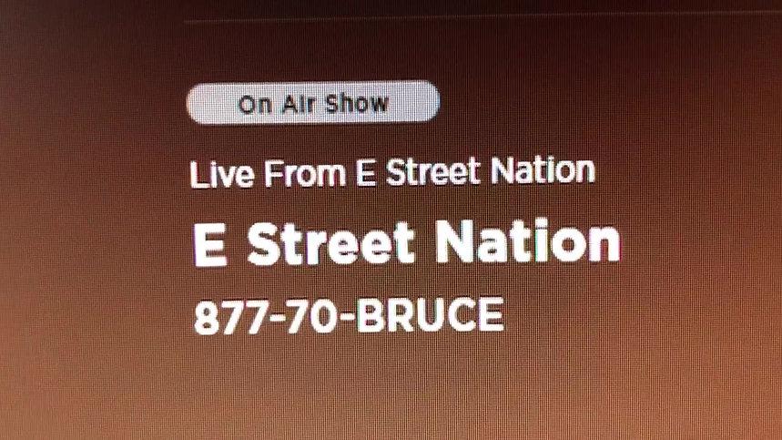 E-Street Radio / Bruce Brunch