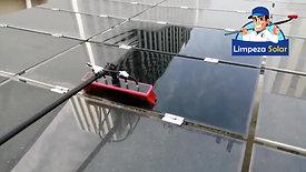 Demonstração Limpeza Solar