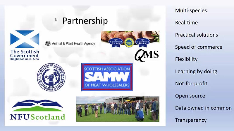 An International Perspective--Traceability and Technology in Scotland
