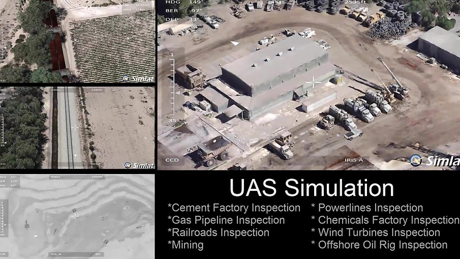 Simlat Commercial UAS Simulation