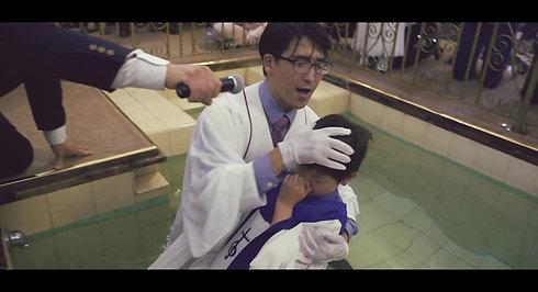 2017 침례식 Baptism