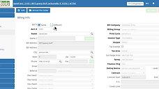 WasteBooks Online Billing Info Screen Overview