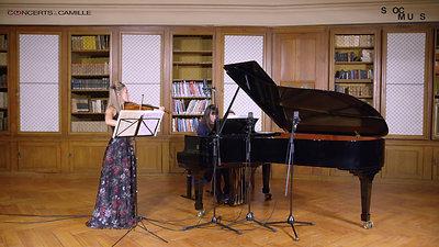 Anna Egholm, violon | Maria Baranova, piano