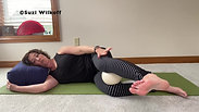 Stand Up Straighter! Inner Thigh Roll in Rest Pose