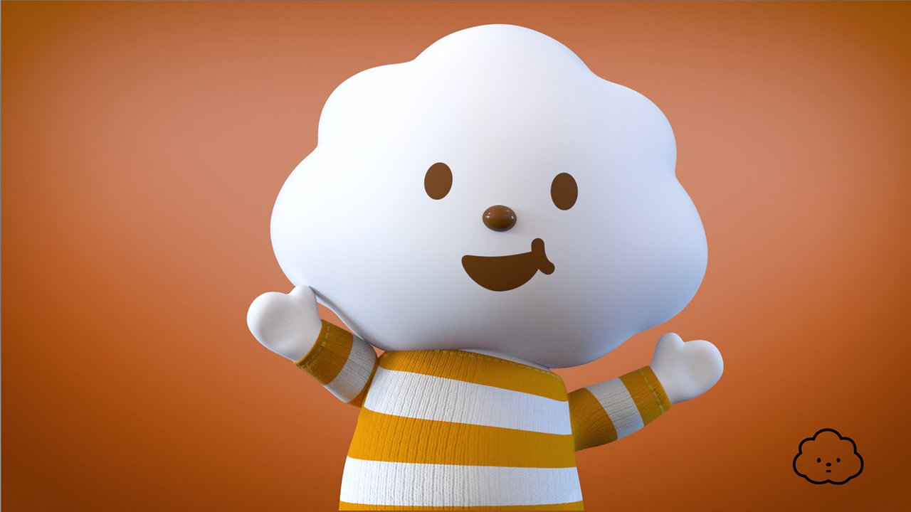 Mr. White Cloud and Friends Animation
