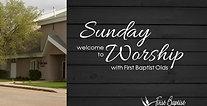 August 29, 2021 Worship Service