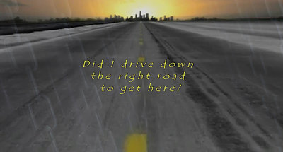 The Road To Nowhere Lyric Video