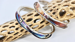 Silver Wave Bangle Video Tutorial