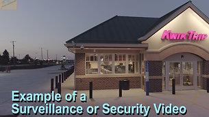 Surveillance example clip