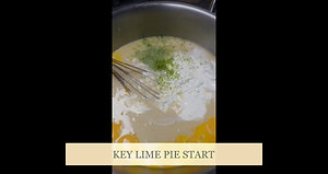 Key Lime start and finish