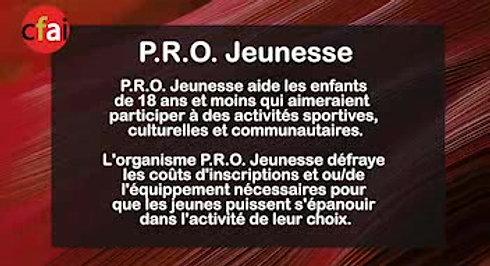 Cfai.tv 003 - P.R.O. Jeunesse