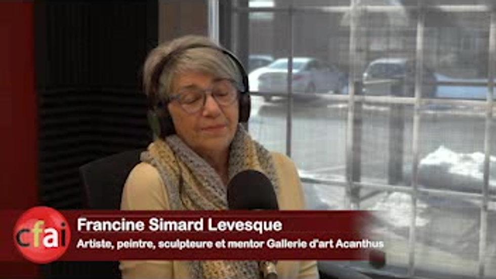 Cfai.tv 008 - Francine Simard Levesque