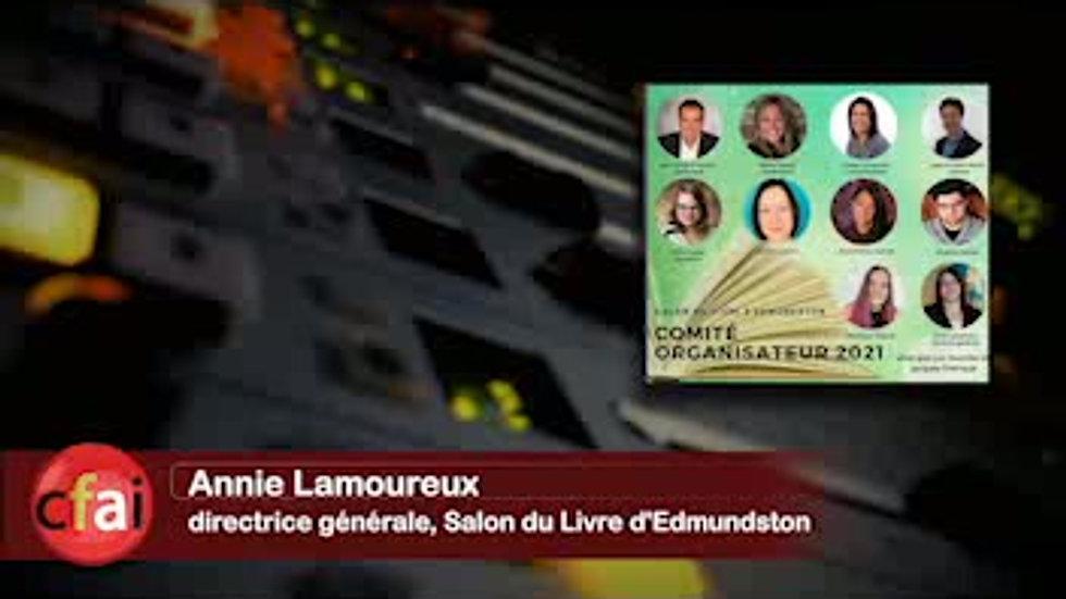 Cfai.tv 007 - Salon du livre d'Edmundston
