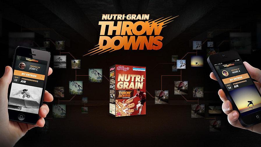 Nutri Grain Throwdowns Case Study