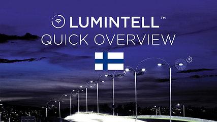 Lumintell™ Solution Overview, Finnish
