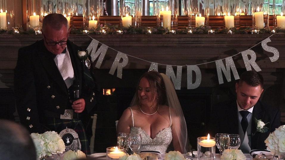 Katie and Nick - Peckforton Castle Wedding