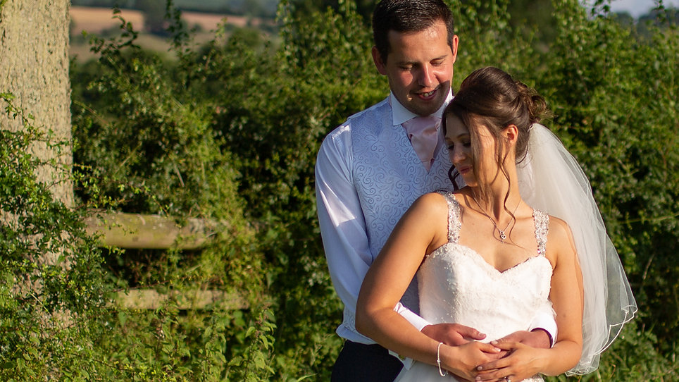 Becky and Chris - Shropshire Wedding