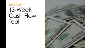 13-Week Cash Flow Tool