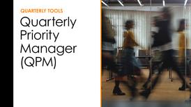 Quarterly Tools - QPM