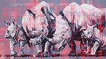 Rhino Crash, original artwork by Hannah Shergold