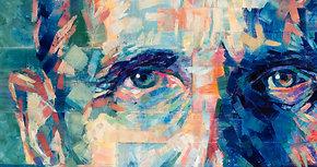 """Colin"", by Hannah Shergold, oil on canvas, 60 x 90 cm"