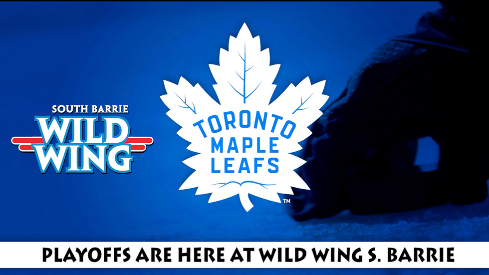 WILD WING SOUTH BARRIE LEAFS RESTAURANT PROMOTIONAL VIDEO