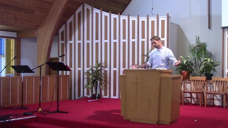 July 18, 2021, Worship Service
