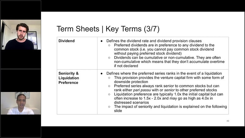VC Module 07 - 04 - Term Sheet (3_7)_ Seniority _ Liquidation Preferences