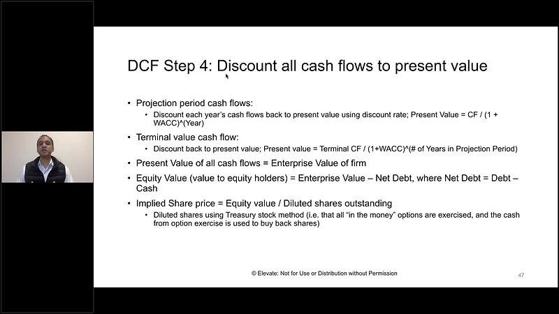IBD Module 04 - 08P - Valuation & DCF Step 4