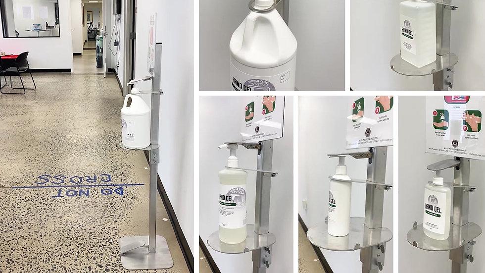 Hands Free Sanitizer Station