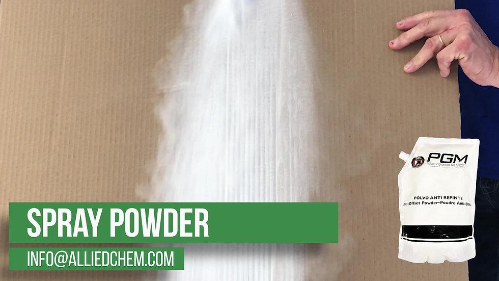 Not Your Average Spray Powder