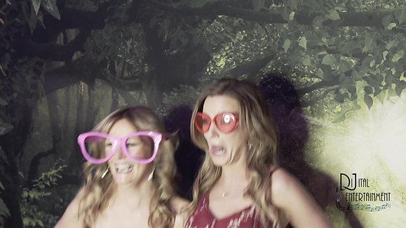 DiJital Mini Mirror Wedding Fun